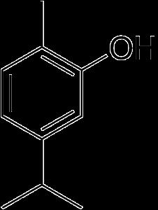 Carvacrol (5-isopropyl-2-methylphenol[citation needed] 2-Methyl-5-(1-methylethyl)-phenol), has the chemical formula C10H14O. is a monoterpenoid phenol with the characteristic odor of oregano.[